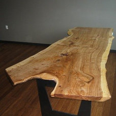 Contemporary Desks by Jewell Hardwoods
