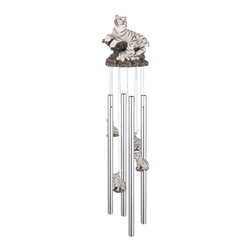 GSC - Wind Chime Round Top White Tiger Hanging Garden Decoration Windchime - This gorgeous Wind Chime Round Top White Tiger Hanging Garden Decoration Windchime has the finest details and highest quality you will find anywhere! Wind Chime Round Top White Tiger Hanging Garden Decoration Windchime is truly remarkable.