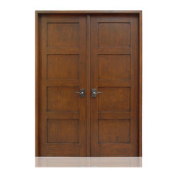 Craftsman Collection | 2071 | 16-27 - Species: Knotty Alder, Distress: Smooth, Hinges : 8.-  Ball Bearing Hinges ORB, Interior Door