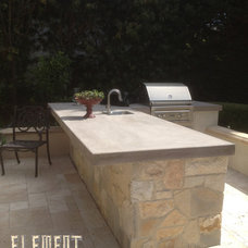 Traditional Outdoor Grills by Element Construction Masonry & Paving