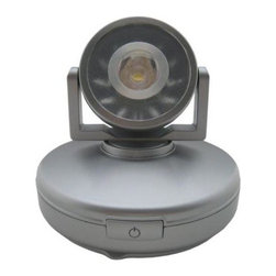 Rite Lite - Clip & Suction Lights: Hi-Output 1 Watt LED Accent Light LPL748 - Shop for Lighting & Fans at The Home Depot. The Rite Lite hi-output 1 watt LED accent light comes with one super bright white LED. The light head rotates a full 360 degrees for optimal lighting along with the light head pivots 30 degrees up and down. The light comes with a one touch on/off switch with selectable dimmer. This accent light has a sleek design and is easy to place wherever you may need the extra light. The light operates on 3 AA batteries (not included), so no wires or installation are required. This light is perfect for the home, office, workshop or anywhere in the home you may need extra light.