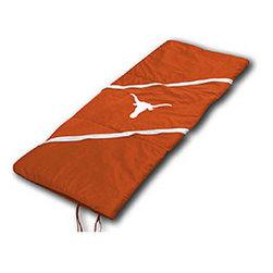 Sports Coverage - NCAA Texas Longhorns MVP Sleeping Bag - Features: