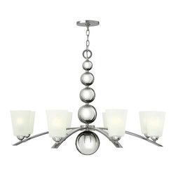 Hinkley Lighting - Hinkley Lighting | Zelda 8 Light Chandelier - Design by Hinkley Lighting.