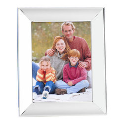 None - Towle Wide Border Scoop Silver-plated 8x10-inch Photo Frame - Showcase your favorite family photo or treasured nature snapshot with this 8' x 10' classic silver-plated picture frame. It features a wide frame with a scoop design and shiny finish that can be hung on your wall or placed on any tabletop.
