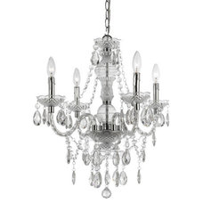 Eclectic Chandeliers by Colom and Brit Interiors