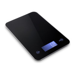 Metro Fulfillment House (Kitchen) - Metro Fulfillment House Professional Digital Kitchen Scale, 11 Pound - Features advanced touch sensitive buttons for easy operation and large LCD screen that displays weights in pounds kilograms grams and ounces Boasts a tempered glass surface in reflective black that is 4 times stronger than normal glass and an award-winning thin design Equipped with 4 high precision sensors the Metro Fulfillment House Touch Digital Kitchen Scale provides accurate measurements from 0.1 oz. to 11 lbs. The Metro Fulfillment House also features a button that quickly calculates the net weight of your ingredients by subtracting the container weight Includes 2 Lithium Batteries and an Easy Access Battery Compartment (no screwdriver needed)