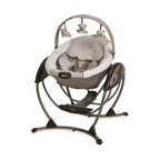 Graco - Graco Glider LX Gliding Swing in Paris - Keep your baby calm and happy with this unique, portable Gliding Swing. Designed to deliver the same gentle motion you use when cuddling your little one.