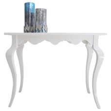 Modern Console Tables White High Gloss Console Table