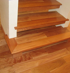 modern wood flooring by Precision Flooring