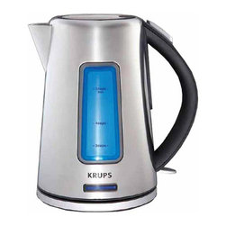 2.5 - Krups BW3990 Electric Kettle, Brushed Stainless Steel - -High power with perfect visibility for tea and more