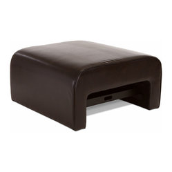 Great Deal Furniture - Duvall Leather Ottoman Coffee Table with Pullout Tray - This handsome bonded leather ottoman has a secret. Its hidden storage drawer doubles as a tabletop. No matter how you choose to use the drawer, this versatile piece of furniture is sure to become a family favorite.