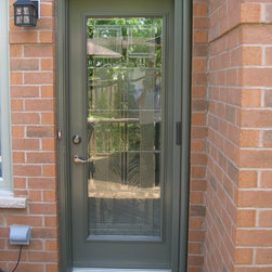 Entry Door Retractable Screens Invisible Screens Canada