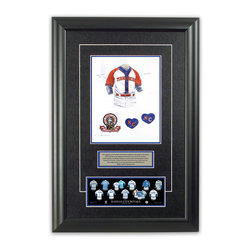 "Heritage Sports Art - Original art of the MLB 1995 Kansas City Royals uniform - This beautifully framed piece features an original piece of watercolor artwork glass-framed in an attractive two inch wide black resin frame with a double mat. The outer dimensions of the framed piece are approximately 17"" wide x 24.5"" high, although the exact size will vary according to the size of the original piece of art. At the core of the framed piece is the actual piece of original artwork as painted by the artist on textured 100% rag, water-marked watercolor paper. In many cases the original artwork has handwritten notes in pencil from the artist. Simply put, this is beautiful, one-of-a-kind artwork. The outer mat is a rich textured black acid-free mat with a decorative inset white v-groove, while the inner mat is a complimentary colored acid-free mat reflecting one of the team's primary colors. The image of this framed piece shows the mat color that we use (Medium Blue). Beneath the artwork is a silver plate with black text describing the original artwork. The text for this piece will read: This original, one-of-a-kind watercolor painting of the 1995 Kansas City Royals throwback uniform is the original artwork that was used in the creation of this Kansas City Royals uniform evolution print and tens of thousands of other Kansas City Royals products that have been sold across North America. This original piece of art was painted by artist Bill Band for Maple Leaf Productions Ltd. Beneath the silver plate is a 3"" x 9"" reproduction of a well known, best-selling print that celebrates the history of the team. The print beautifully illustrates the chronological evolution of the team's uniform and shows you how the original art was used in the creation of this print. If you look closely, you will see that the print features the actual artwork being offered for sale. The piece is framed with an extremely high quality framing glass. We have used this glass style for many years with excellent results. We package every piece very carefully in a double layer of bubble wrap and a rigid double-wall cardboard package to avoid breakage at any point during the shipping process, but if damage does occur, we will gladly repair, replace or refund. Please note that all of our products come with a 90 day 100% satisfaction guarantee. Each framed piece also comes with a two page letter signed by Scott Sillcox describing the history behind the art. If there was an extra-special story about your piece of art, that story will be included in the letter. When you receive your framed piece, you should find the letter lightly attached to the front of the framed piece. If you have any questions, at any time, about the actual artwork or about any of the artist's handwritten notes on the artwork, I would love to tell you about them. After placing your order, please click the ""Contact Seller"" button to message me and I will tell you everything I can about your original piece of art. The artists and I spent well over ten years of our lives creating these pieces of original artwork, and in many cases there are stories I can tell you about your actual piece of artwork that might add an extra element of interest in your one-of-a-kind purchase."