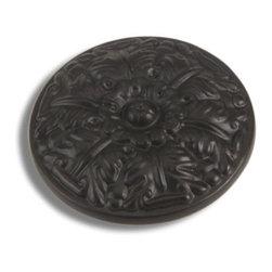 Atlas Homewares - Aged Bronze Hammered Round Knob (ATH138O) - Aged Bronze Hammered Round Knob