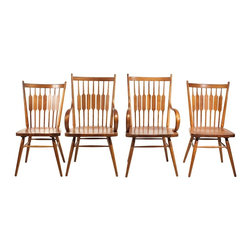 Drexel - Consigned Mid Century Drexel Declaration Dining Chairs - • Mid Century | American Modern