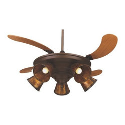 Air Shadow Ceiling Fan with Shade Options