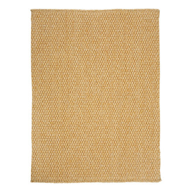 Worthington rug in Coir - This rug is a heavy flat woven construction of solution-dyed polypropylene with a Bouclé texture, creating a terrific up-to-date design. Made in today's most natural colors, this rug is sure to fit with any décor.