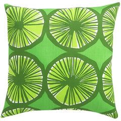 eclectic outdoor pillows by Crate&Barrel