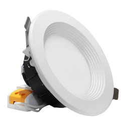 TorchStar - 12Watt 4-Inch Dimmable LED Recessed Ceiling Light, Warm White - Overview