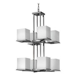 Fredrick Ramond - Eight Light Chandelier - The name Fredrick Ramond is synonymous with quality in the lighting industry.