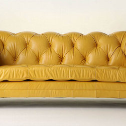 Atelier Chesterfield - I am obsessed with Chesterfields and this sunny-dispositioned one is so beautiful!