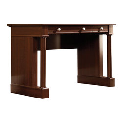 Sauder - Sauder Palladia Writing Desk in Select Cherry Finish - Sauder - Writing Desks - 412115 - About the Sauder Palladia Collection: