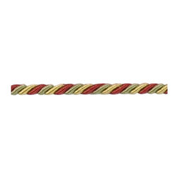 "1/8"" CORD W/LIP - RED/GREEN - Item #1009752-91."