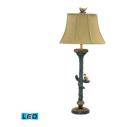 Dimond Lighting - Dimond Lighting Bird On Branch Table Lamp - LED Offering Up To 800 Lumens - Table Lamp - LED Offering Up To 800 Lumens belongs to Bird On Branch Collection by Dimond Lighting Lamp (1)
