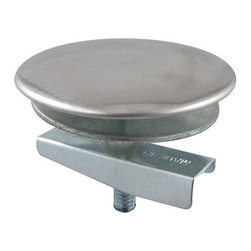 Kingston Brass - Chrome Plated Faucet Hole Cover - The chrome plated faucet hole cover is designed to hide the unused holes seen on the sink deck. The cover comes in four different finishes to color coordinate with other kitchen items as well as covering up the unsightly hole.