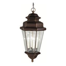 Kichler - Kichler 9831OZ 4 Light Outdoor Pendant from the Savannah Estates Collection - Kichler 9831 Savannah Estates Outdoor Pendant Light