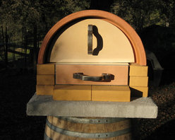 Portable outdoor wood fired & gas pizza oven - Tim Leefeldt Architecture & Design, Chico, CA