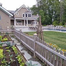 Craftsman Landscape by Bickford Construction Corporation