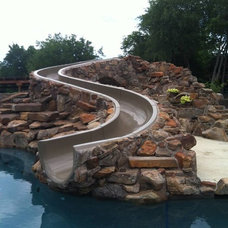 Traditional Swimming Pools And Spas by Dolphin Waterslides
