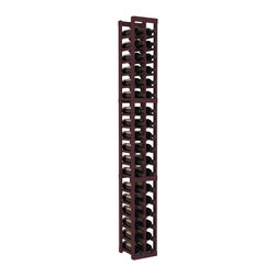 Wine Racks America - 2 Column Standard Wine Cellar Kit in Pine, Burgundy - We select from the highest grade materials available. Completely solid assembly retains strength and durability to withstand extensive use. We guarantee it. All the edges of our products are softened to ensure you won't get nicks or splinters, like you will from budget brands. You'll be satisfied. We guarantee that, too.