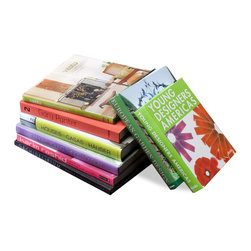 Kathy Kuo Home - Design Aficionado Coffee Table Books - Modern- Set of 8 - Collecting the perfect series of coffee table books can be a never-ending venture, so anyone with an appreciation for design with appreciate this set of Design Aficionado books.  Featuring an assortment of colors that will accent your coffee table, this set of eight books can be used anywhere in your home and will surely expose to something new in the vast world of design.