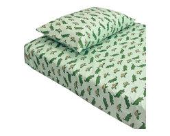 Store51 LLC - Alligators/Turtles Sheet Set - Features: