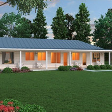 Traditional Rendering by Houseplans Studio