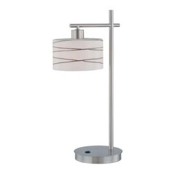 Lite Source LS-21513 Lenza Table Lamp - About Lite SourceLite Source is headquartered in California and manufactures a beautiful selection of high-quality accent lamps ceiling lighting wall lighting exterior lighting and home accessories. A purchase from Lite Source will be a long-lasting addition to any decor.