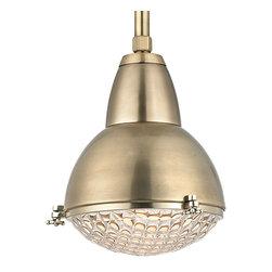 Hudson Valley Lighting - Hudson Valley Lighting 8109-AGB Belmont Aged Brass Pendant - Hudson Valley Lighting 8109-AGB Belmont Aged Brass Pendant