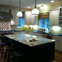traditional kitchen tile by Art of Tile and Stone