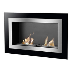 IGNIS - Ignis Recessed Bio Ethanol Fireplace - Villa - Ventless - Wall Mounted - *Design Patent Pending - 29/469,479