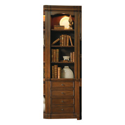 Hooker - Hooker Cherry Creek Wall Storage Cabinet - 22 258-70-444 - A sophisticated build featuring much needed storage space and a classic build make this cabinet a timeless addition to a home office collection.