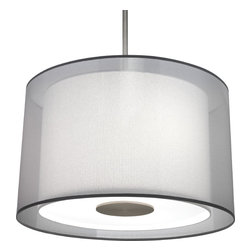 Robert Abbey - Saturnia Pendant,Stainless Steel - -3 - 100W Max.