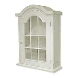 EuroLux Home - New Cabinet White/Cream Painted Hardwood - Product Details