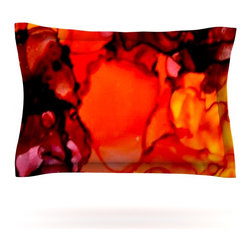 "Kess InHouse - Claire Day ""Mordor"" Pillow Sham (Cotton, 30"" x 20"") - Pairing your already chic duvet cover with playful pillow shams is the perfect way to tie your bedroom together. There are endless possibilities to feed your artistic palette with these imaginative pillow shams. It will looks so elegant you won't want ruin the masterpiece you have created when you go to bed. Not only are these pillow shams nice to look at they are also made from a high quality cotton blend. They are so soft that they will elevate your sleep up to level that is beyond Cloud 9. We always print our goods with the highest quality printing process in order to maintain the integrity of the art that you are adeptly displaying. This means that you won't have to worry about your art fading or your sham loosing it's freshness."