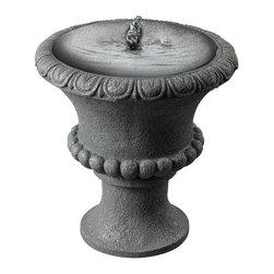 Kenroy - Kenroy 50031CON Garden Urn Solar Table Top Fountain - Kenroy 50031CON Garden Urn Solar Table Top Fountain