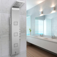 Contemporary Shower Panels And Columns by Hudson Reed