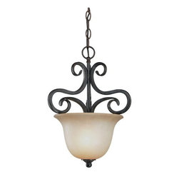 Jeremiah Lighting - Jeremiah Lighting 24931 Torrey 1 Light Urn Pendant - Jeremiah Lighting 1 Light Urn Pendant from the Torrey CollectionFeatures: