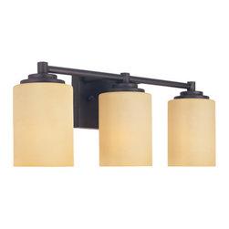 Designer Fountain - Marbella 3-Light Bath Bar - 3-Light Bath Bar