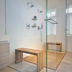 modern bathroom by Partners 4, Design